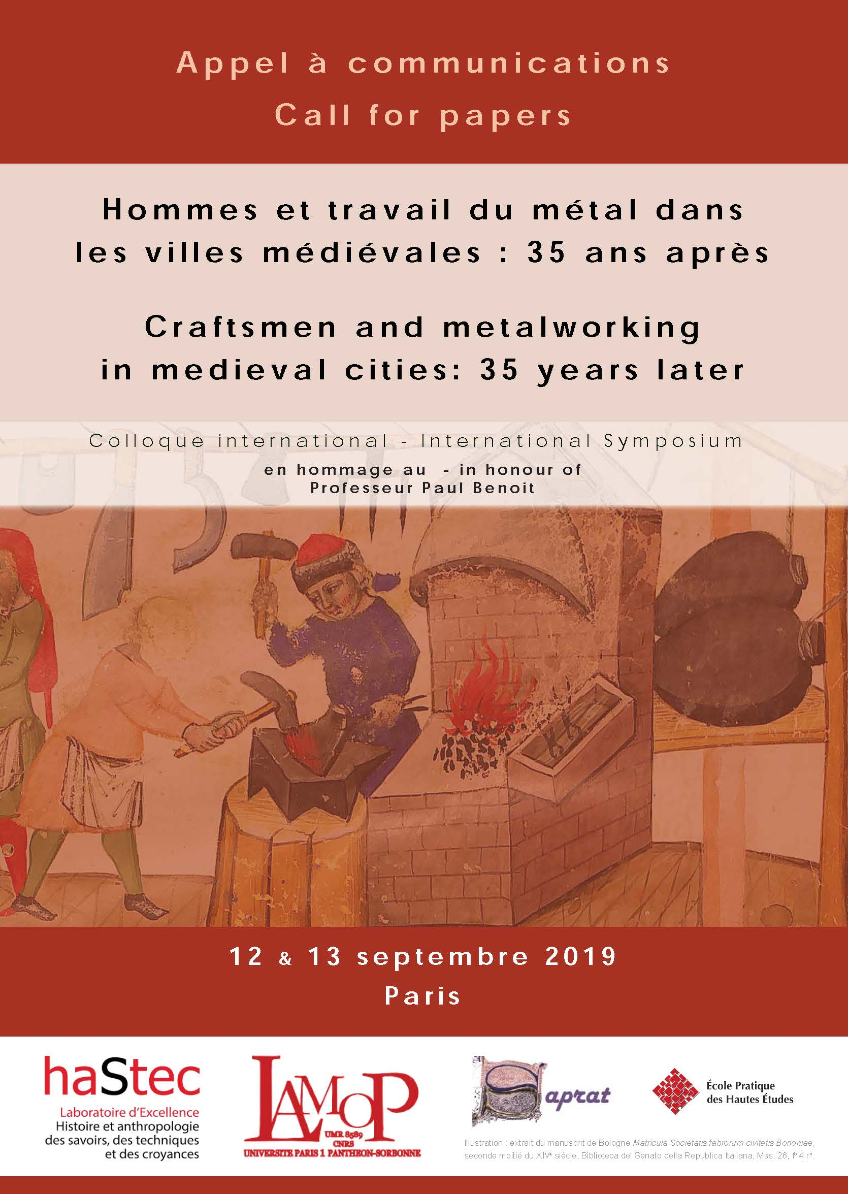 2019 Appel Call for papers HTM2019 Fr En